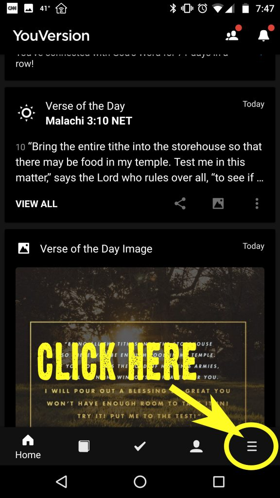 Sermon Notes on YouVersion Bible App – MAPLE AVENUE CHRISTIAN CHURCH