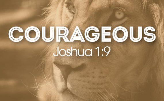 Courage Sermon Series Graphic