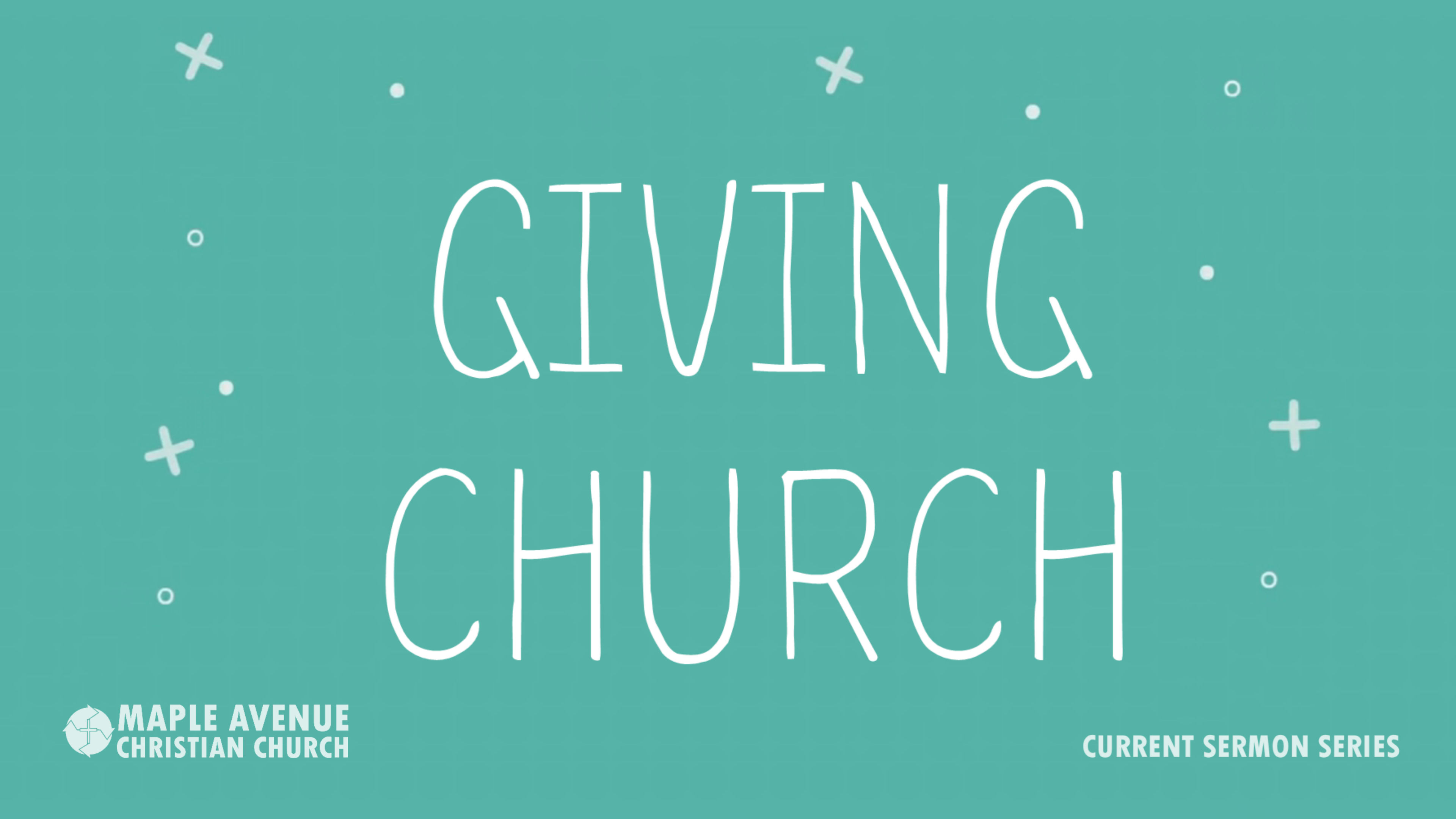 GIVING CHURCH: Hospitality